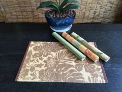 natural design bamboo table mat