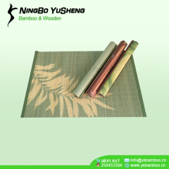 natural design bamboo placemat