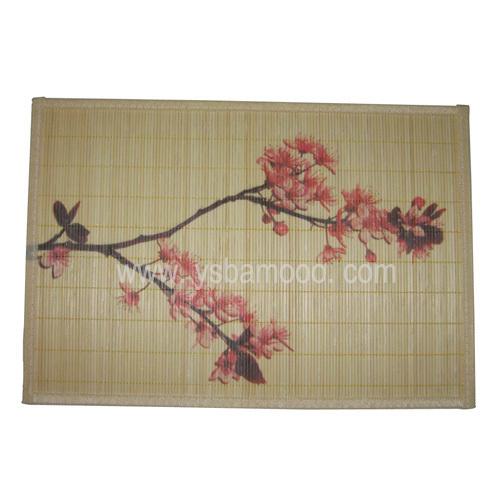 fashion design bamboo placemat