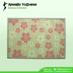Attractive design bamboo placemat