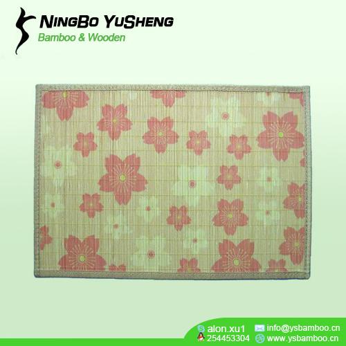 natrual design bamboo placemat