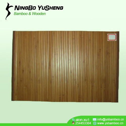 natural Highquality solid color bamboo place mat