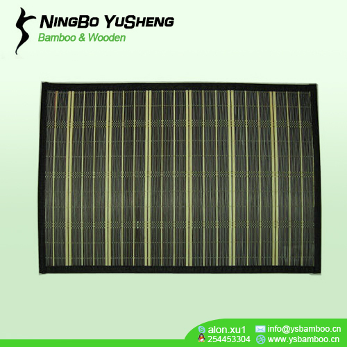weaving design bamboo place mat