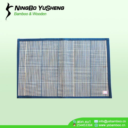 Bamboo Woven table placemats blue color
