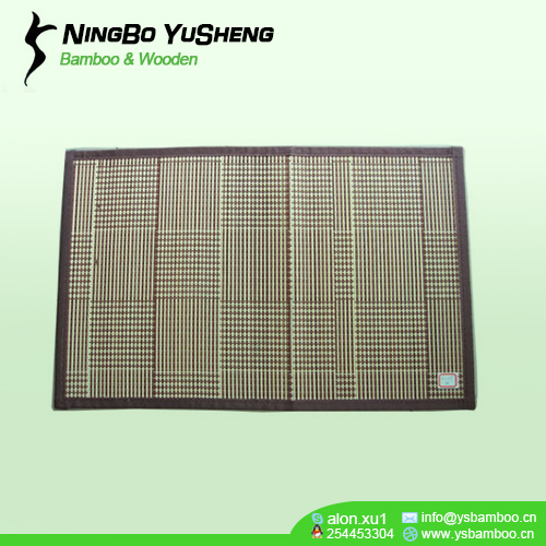 Woven table placemats brown color