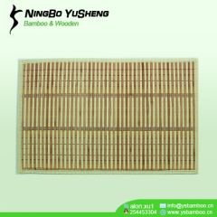 heat insulation Bamboo Placemat