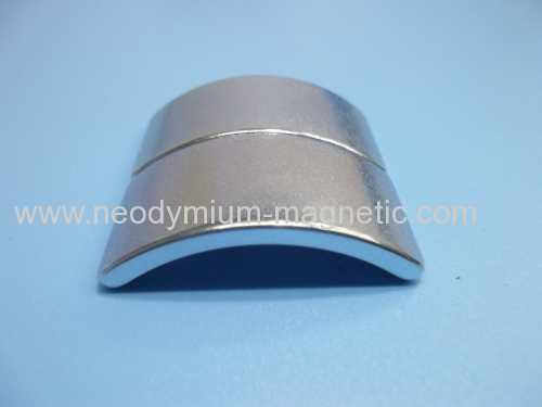 arc rare earth neodymium ndfeb magnet for fan brushless