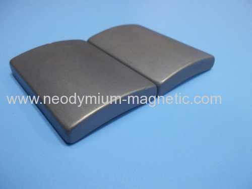 N30UH N33UH N35UH arc segment neodymium ndfeb magnet for motors