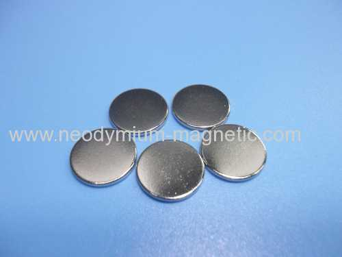 N35 disk Ni plated strong magnet neodymium