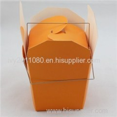 Carry Handle Paper Cake Box