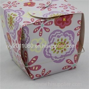Small Cake Packaging Box