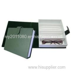 Four Slots Paper Glasses Box