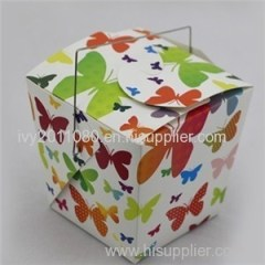 Square Cake Box With Handle