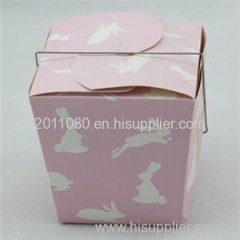 Metal Tote Handle Cake Box