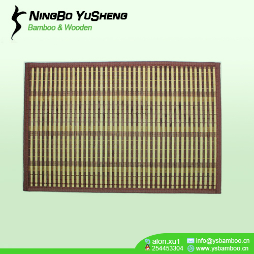 natural Bamboo Placemat Brown Color Wholesale