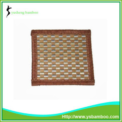 Bamboo cup mat weaving design