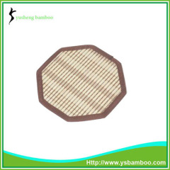 Handwork octagon sharp bamboo Coaster