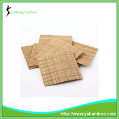 Natural small bamboo heat resistant mat