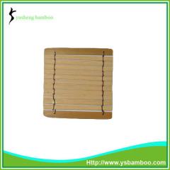 Handmade Natural Bamboo Cup Coasters