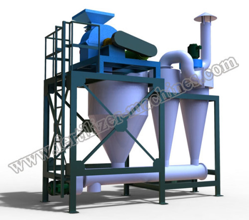 Grinding Equipment Fertilizer : Organic fertilizer crusher dust free cage mill from china