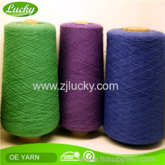 ne2s to ne32s recycled cotton blended yarn