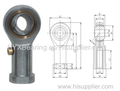 production line use rod end made of carbon steel zinc coated with male or female thread