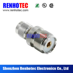 TNC male to UHF female connector