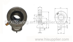 Rod end with welding shank is made up of rod end housing and a radial spherical plain bearing GE..E or GE..ES
