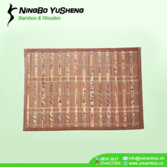 Modern design bamboo rug