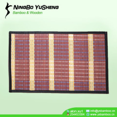 45x75cm new weaving design bamboo rug