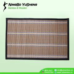 handmade Cheap woven bamboo room mat