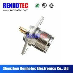 UHF female to UHF female with 4 hole flange 50ohm rf adapter
