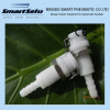 "3/16"" POM NBR Liquid Plastic Quick Disconnect Coupling Body"