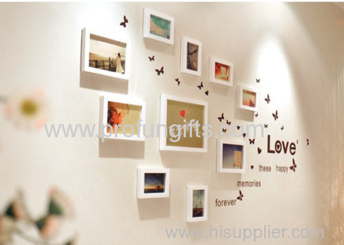 Eco-friendly Promotion Gift fashional wood Photo&picture frame