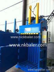 Hydraulic vertical rice and wheat straw baling machine/straw hay baler press machine