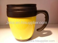 Gifts 400ml double plastic thermos coffee mug cup