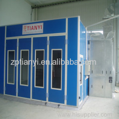 Shandong Tianyi CE High quality lower spray booth