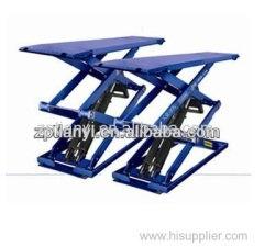 Shandong Tianyi high quality low price short platform double scissor lift