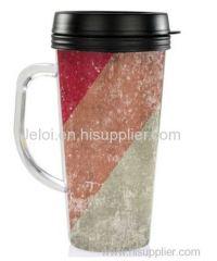 16OZ/450ML hot chocolate thermo mug coffee drinking fruit water bottle