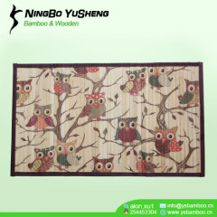 high quality modern design bamboo rug