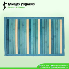 gradient color bamboo room rugs