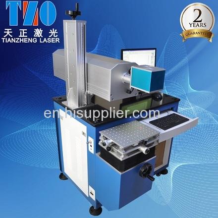 CO2 laser engraver on industrical