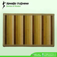 gradient color handmade bamboo area rugs