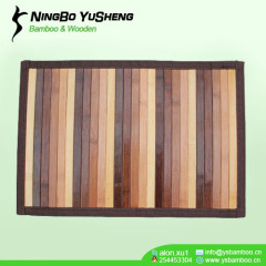gradient color bamboo outdoor rugs