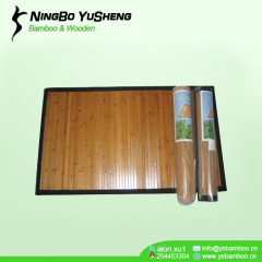 High quality painted bamboo area rugs