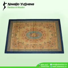 Printing design painted handmede bamboo prayer rugs