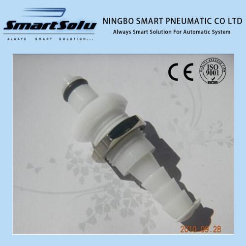 "1/4"" POM NBR Small Plastic Quick Disconnect Coupler Plug"