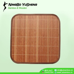 high quality handmade bamboo cool seat mat
