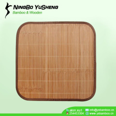 cool handmade bamboo seat mat