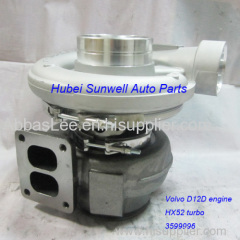 HX52 turbo 3599996 for Volvo truck D12D / D12C engine